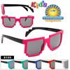 Wholesale Kid's Pixel Sunglasses - 8105