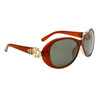 Wholesale Women's Polarized Fashion Sunglasses 8219 Brown