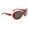 Women's Polarized Wholesale Sunglasses 8221 Maroon