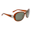 Women's Polarized Wholesale Sunglasses 8221 Brown