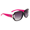 DE™ Fashion Wholesale Sunglasses DE5025 Hot Pink/Black