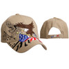 Patriotic Wholesale Cap C6011 - Beige