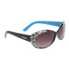 Designer Sunglasses by the Dozen - Style #DI149 Black & Blue