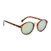 Mirrored Sunglasses in Bulk - Style #861 Tortoise with Yellow Flash Mirror