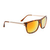 Mirrored Bulk Sunglasses - Style #857 Tortoise Orange-Gold Mirror
