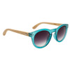 Hand Made Fashion Bamboo Wood Sunglasses - Style #W8007 Blue