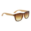 California Classics Bamboo Wood Temples - Style #W8004 Tortoise