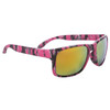 Camouflage Unisex Sunglasses - Style #6086 Pink w/Gold Flash Mirror