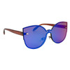Fashion Sunglasses Wholesale - Style #6166 Blue-Green/Brown