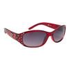 DE™ Rhinestone Sunglasses - Style #DE5094 Red
