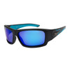 Polarized Xsportz™ Wholesale Sunglasses  - Style XS8010 Black/Blue
