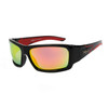 Polarized Xsportz™ Wholesale Sunglasses  - Style XS8010 Black/Red