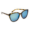 Fashion Sunglasses Wholesale - Style #6138 Tortoise with Blue/Green Revo