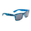 Animal Print California Classics Sunglasses 25413 Blue