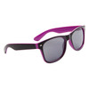 Classic California Classics Sunglasses by the Dozen - Style #26512 Black/Purple