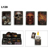 Skull Lighters with Flames
