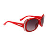Bulk Rhinestone Sunglasses - Style #DI535 Red
