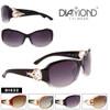 Diamond™ Rhinestone and Metal Accented Fashion Sunglasses - Style #DI522