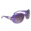 Hearts & Rhinestones Diamond Eyewear Sunglasses DI113 Lavender Frame
