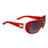 DE597 Women's Fashion Sunglasses Red Frame