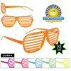 Glow in the Dark Paint Splatter Shutter Shades!