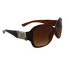 Wholesale Fashion Sunglasses | DE Designer Eyewear | Two-Tone Brown Frames