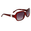 Fashion Sunglasses Wholesale D583 Dark Red Frame