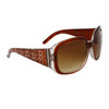 DE™ Bulk Fashion Sunglasses - Style # DE83 Brown