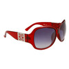 DE534 Women's Fashion Sunglasses Maroon Frames