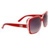 DE Designer Sunglasses DE578 Red Frames