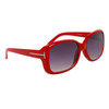 Fashion Wholesale Sunglasses 24313 Red Frame Color