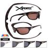 Full Wrap Around Frame Polarized Sunglasses - Style #XS55