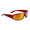 Men's Sports Style Bulk Sunglasses - Style #9065 Red with Gold Revo