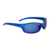 Men's Cheap Sports Sunglasses - Style #9067 Blue with Blue Mirror