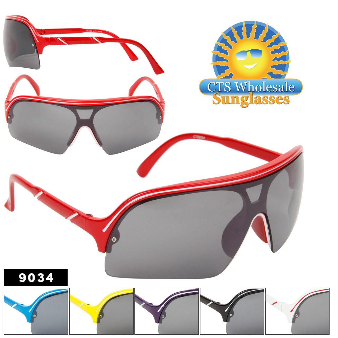 Single Piece Lens Sunglasses #9034