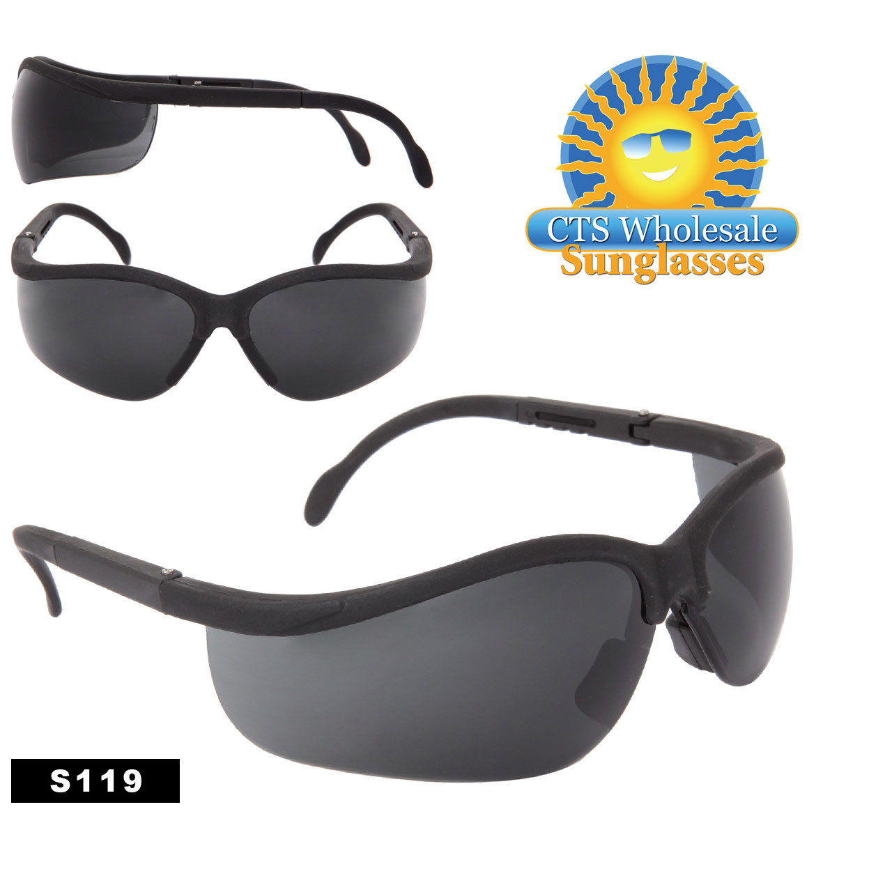 Tinted Safety Sunglasses