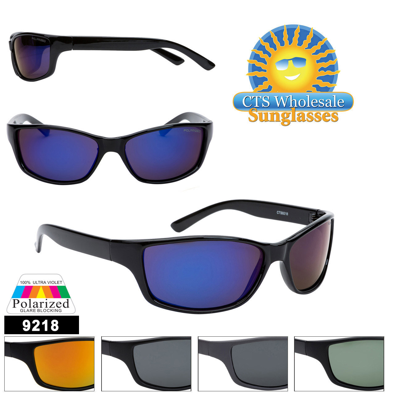 #9218 Polarized Unisex Sunglasses