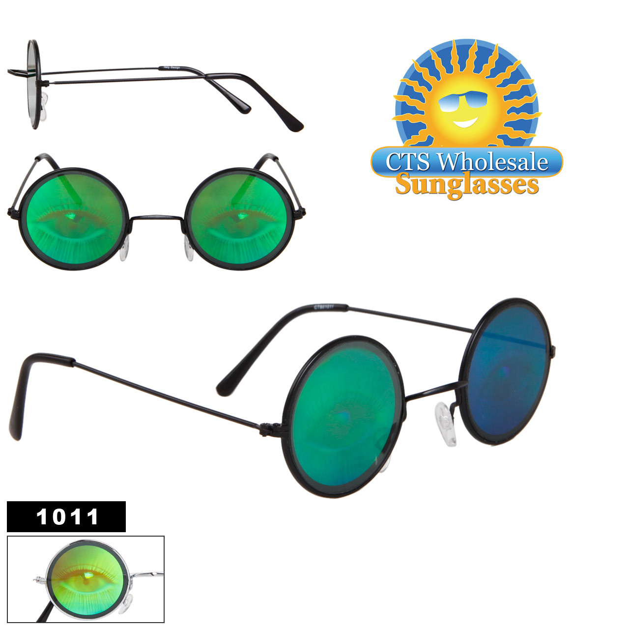 Eyeball Hologram Sunglasses 1011
