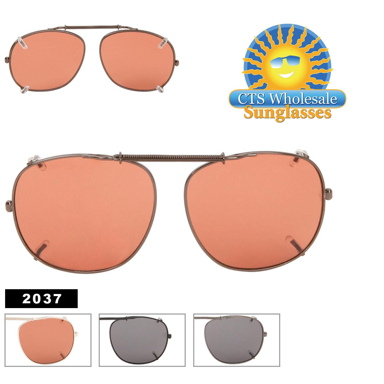 2037 Metal Clip On Sunglasses