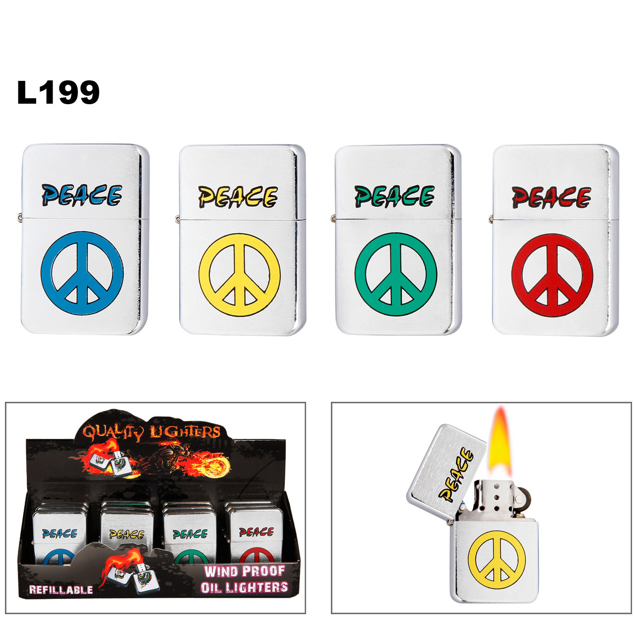 Peace Lighters L199