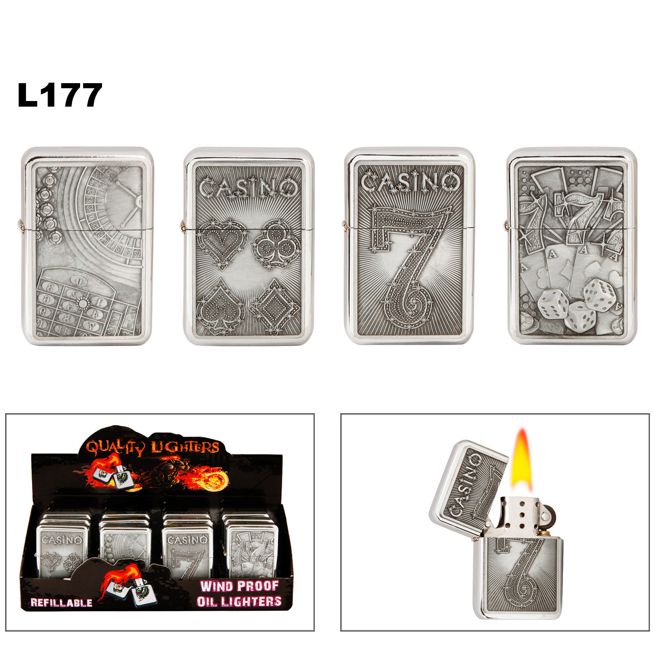 Casino Lighters L177