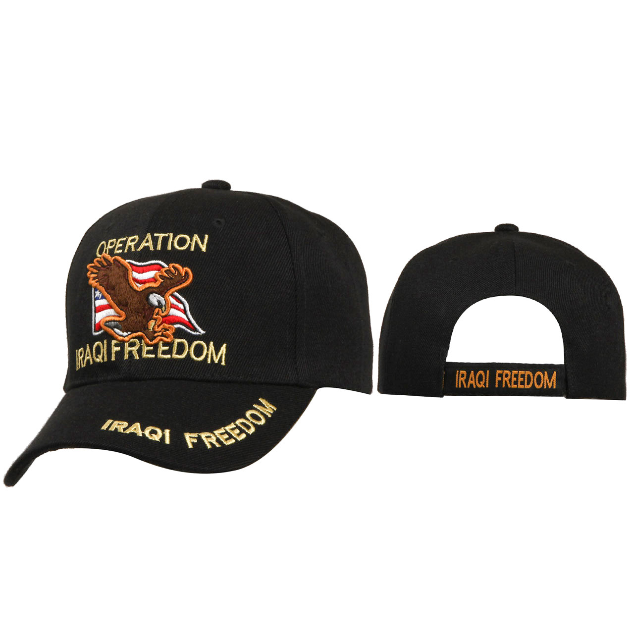 Veteran Hats Wholesale ~ C182 ~ Operation Iraqi Freedom