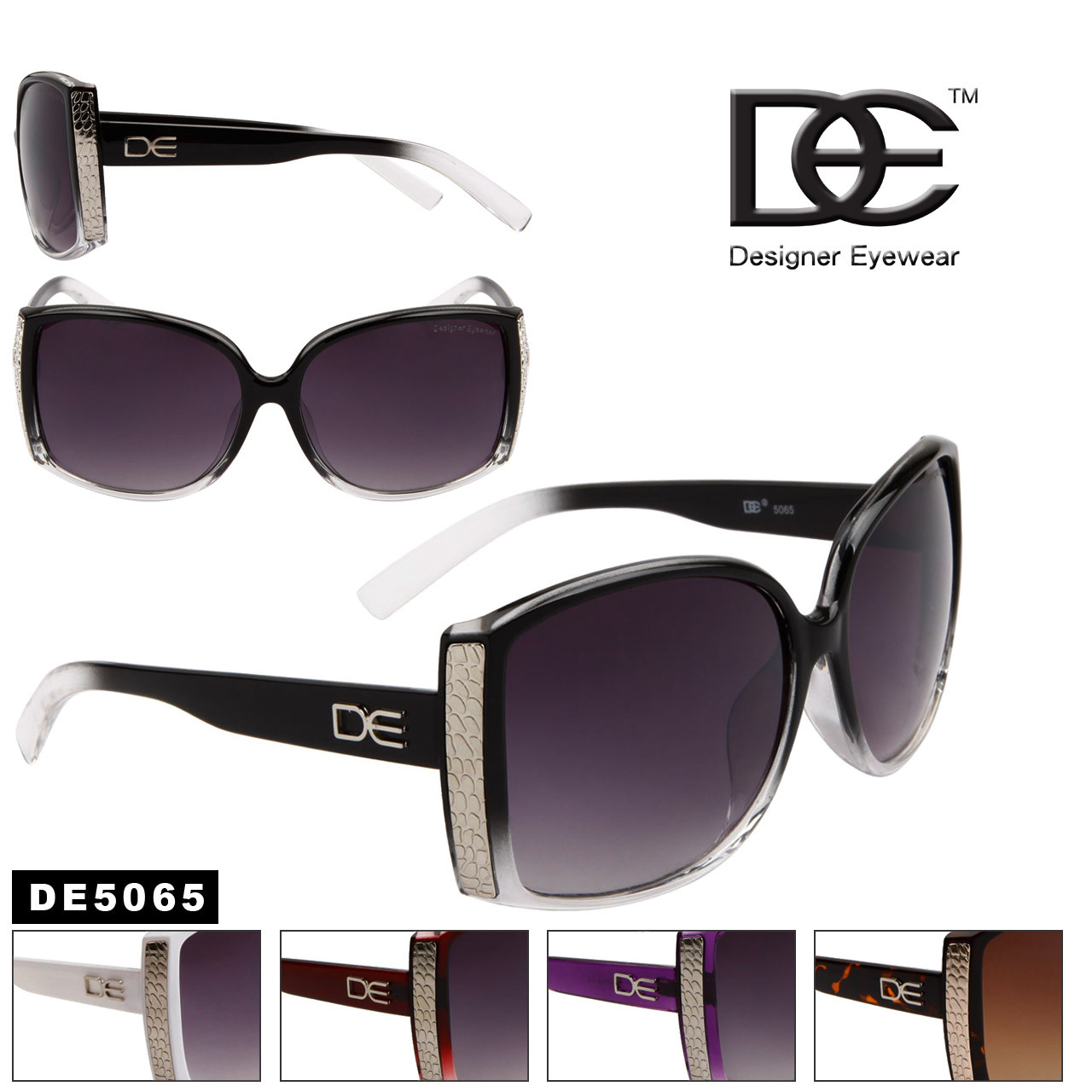 DE™ Sunglasses Wholesale by the Dozen - Style # DE5065