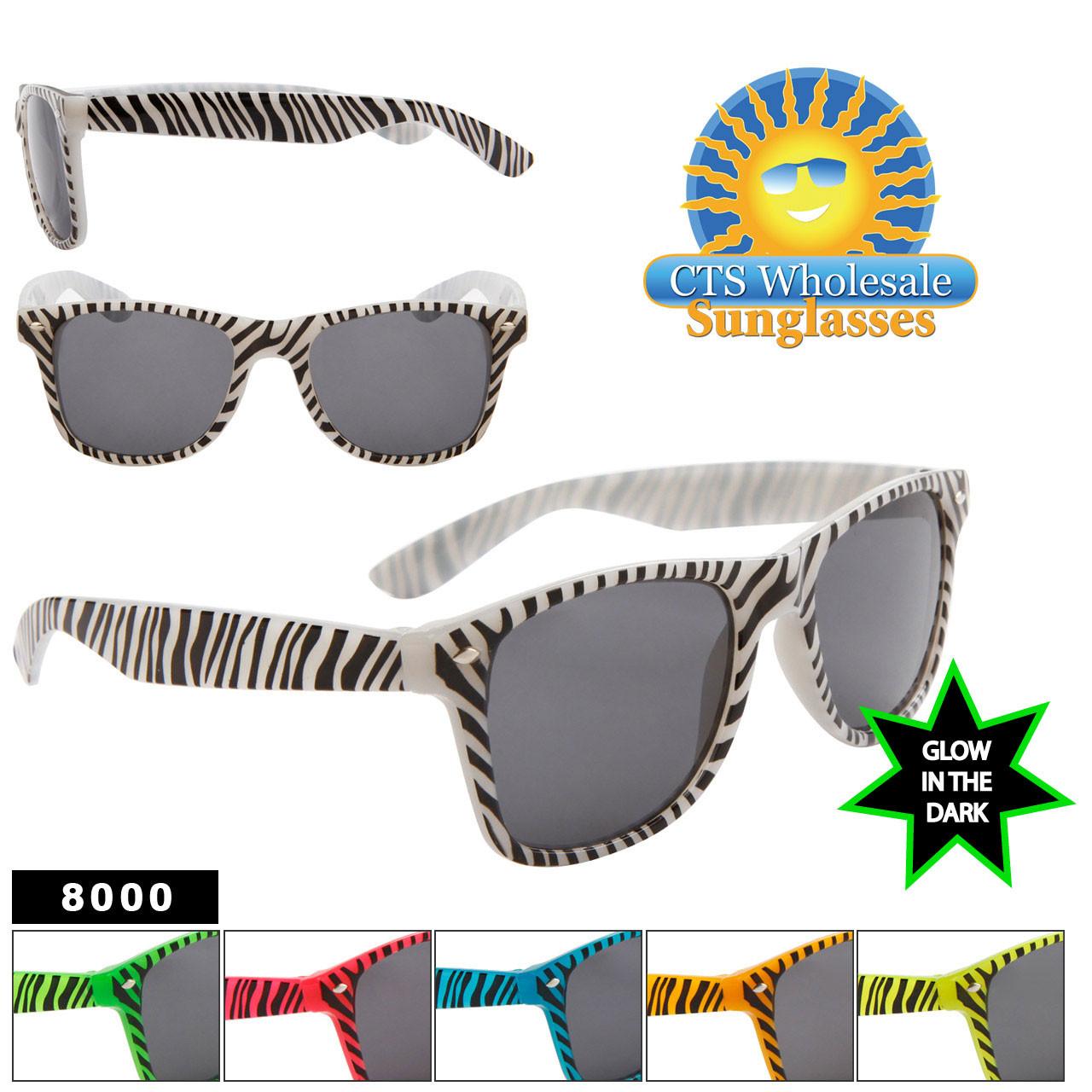 Glow In The Dark Sunglasses #8000