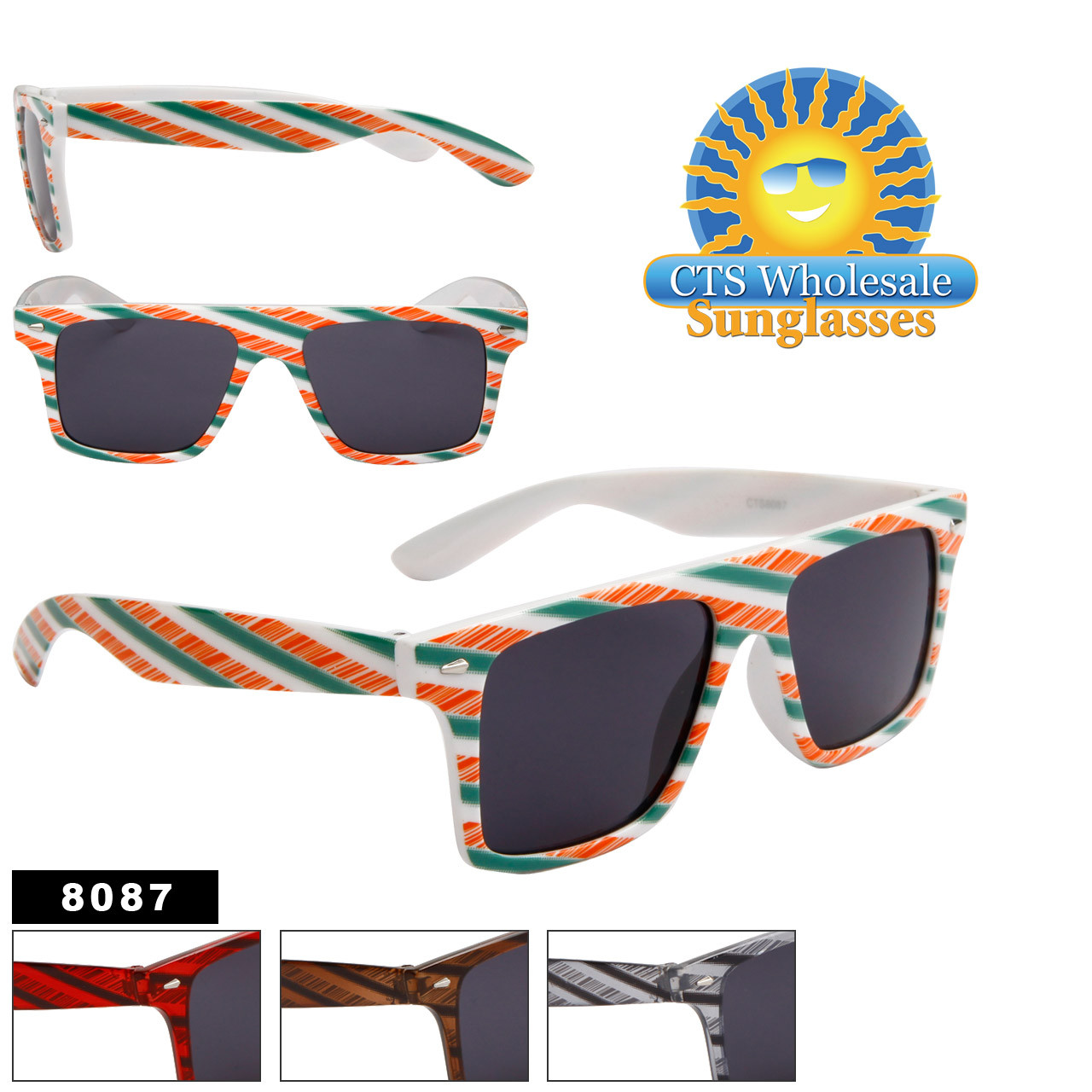 California Classics Sunglasses Wholesale 8087