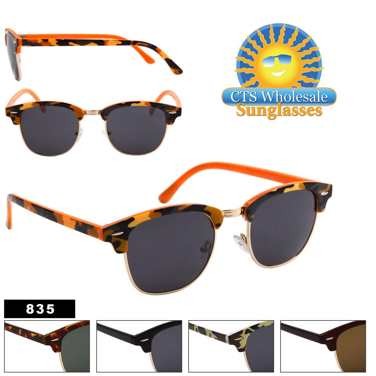 Wholesale Sunglasses by the Dozen - Style # 835