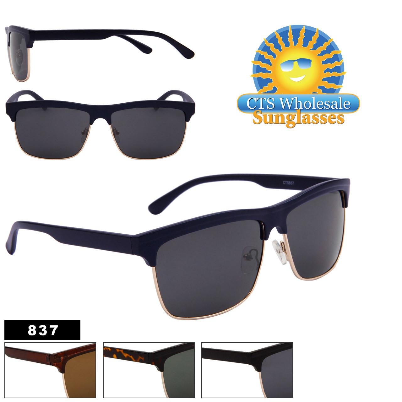 Bulk Unisex Sunglasses - Style # 837