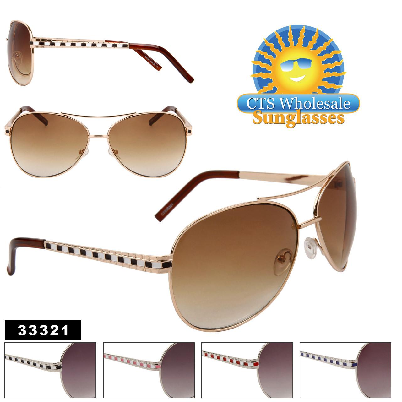Bulk Aviator Sunglasses - Style # 33321