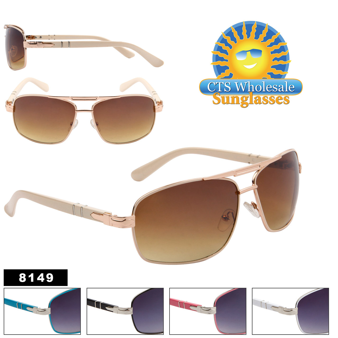Aviator Sunglasses 8149