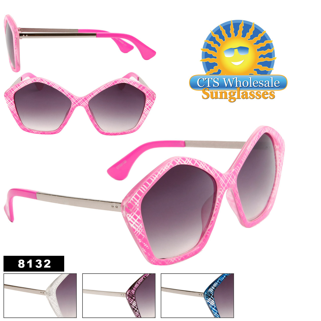 Wholesale Fashion Sunglasses 8132
